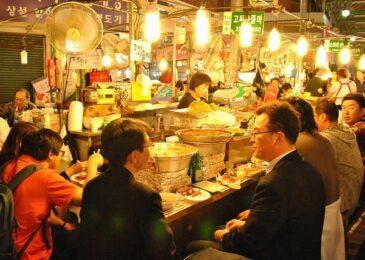 Lê la các quán ăn đêm ở Seoul