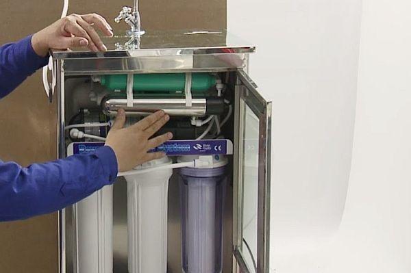 """Cách khắc phục một số """"bệnh"""" cơ bản của máy lọc nước"""