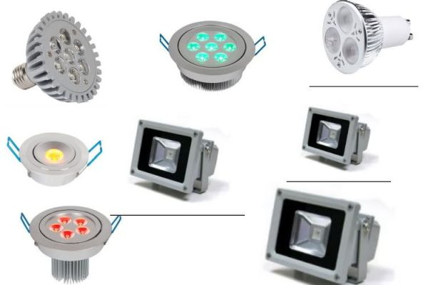 Đèn led dần thay thế đèn sợi đốt và đèn huỳnh quang