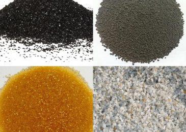 Công dụng của các loại vật liệu lọc nước sinh hoạt