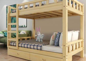 Giường tầng được làm từ vật liệu gì?