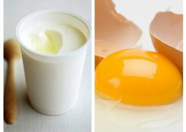 Tạm biệt làn da kém sắc nhờ sữa chua và trứng