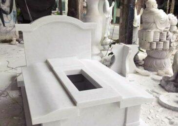 Những mẫu mộ đá trắng đẹp, mang nhiều ý nghĩa