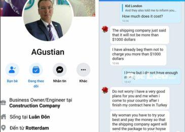 Tuyệt đối cảnh giác với những người nước ngoài lừa đảo trên Facebook