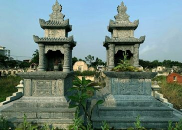 Ý nghĩa tâm linh mẫu mộ đá hai mái đẹp